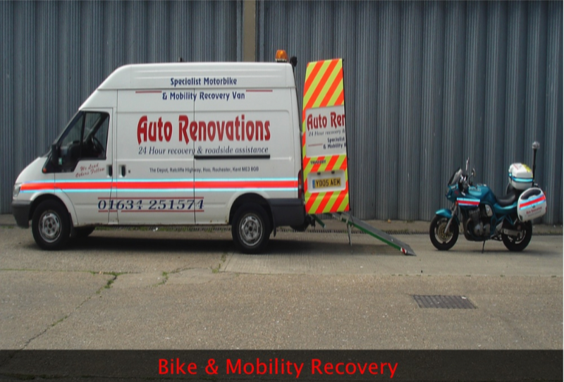 bike and mobility recovery in maidstone kent