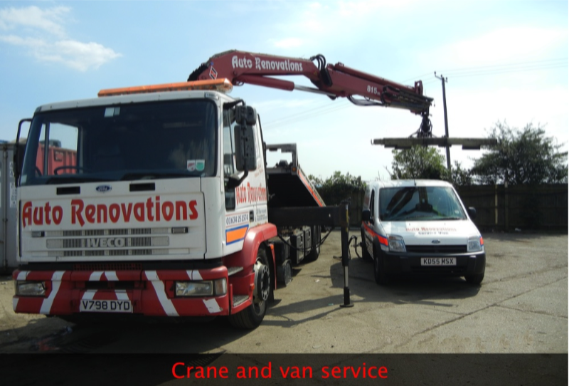 crane and van service in maidstone kent